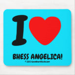 i [Love heart]  bhess angelica! i [Love heart]  bhess angelica! Mousepads
