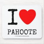 i [Love heart]  pahoote i [Love heart]  pahoote Mousepads