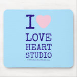 i [Love heart]  love heart studio i [Love heart]  love heart studio Mousepads