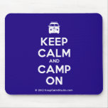 [Campervan] keep calm and camp on  Mousepads