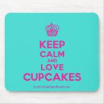 [Cupcake] keep calm and love cupcakes  Mousepads
