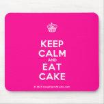 [Cupcake] keep calm and eat cake  Mousepads