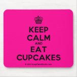 [Cupcake] keep calm and eat cupcakes  Mousepads