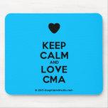 [Love heart] keep calm and love cma  Mousepads