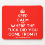 [Crown] keep calm and where the fuck did you come from?!  Mousepads