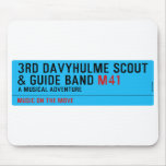 3rd Davyhulme Scout & Guide Band  Mousepads