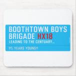 boothtown boys  brigade  Mousepads