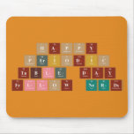 Happy  Periodic  Table Day Fellow Nerds  Mousepads