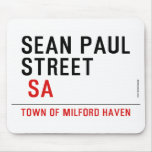 Sean paul STREET   Mousepads