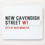 New Cavendish  Street  Mousepads