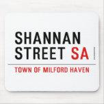 Shannan Street  Mousepads