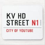 KV HD Street  Mousepads