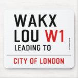 WAKX LOU  Mousepads