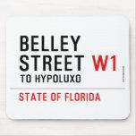 Belley Street  Mousepads