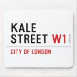 Kale Street  Mousepads