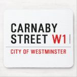 carnaby street  Mousepads