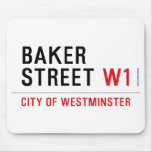 baker street  Mousepads