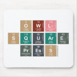Owl Square Press  Mousepads