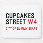 cupcakes Street  Mousepads