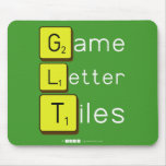 Game Letter Tiles  Mousepads
