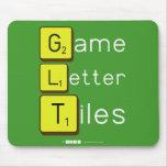 Game Letter Tiles  Mousepads