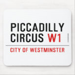piccadilly circus  Mousepads