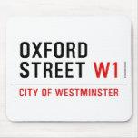 oxford street  Mousepads
