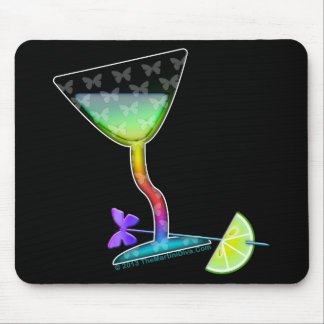 MOUSEPADS - BUTTERFLY MARTINI