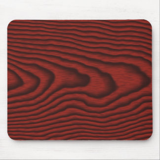 Mousepads con una textura de madera roja