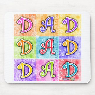 Mousepads - DAD Pop Art