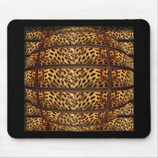 Mousepads de la piel del leopardo