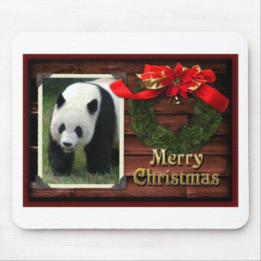 Mousepads de las pandas del oso y del bebé de pand tapetes de ratón