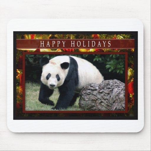 Mousepads de las pandas del oso y del bebé de pand tapete de ratones