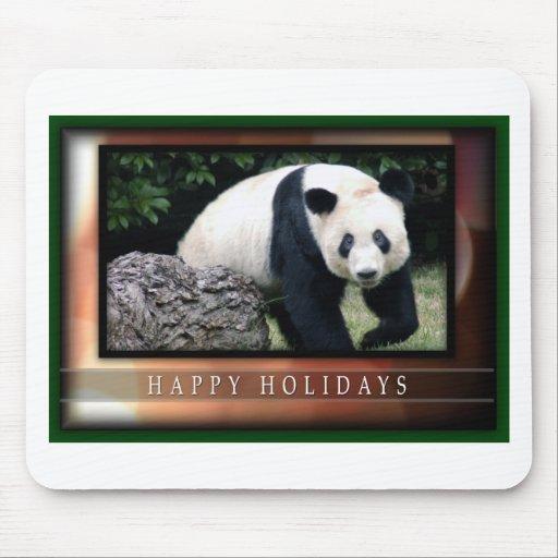 Mousepads de las pandas del oso y del bebé de pand tapetes de raton