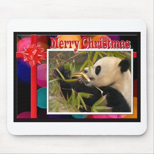 Mousepads de las pandas del oso y del bebé de pand alfombrillas de ratón
