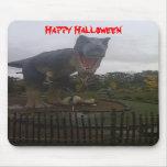 Mousepads del dinasaur de Halloween Tapetes De Raton