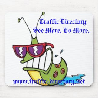 Mousepads del directorio del tráfico alfombrillas de ratones