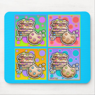 Mousepads - Pop Art Cookies