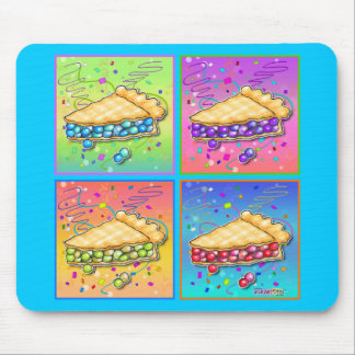 Mousepads - Pop Art Piece of Pie