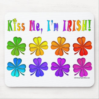 Mousepads - Pop Art SHAMROCKS