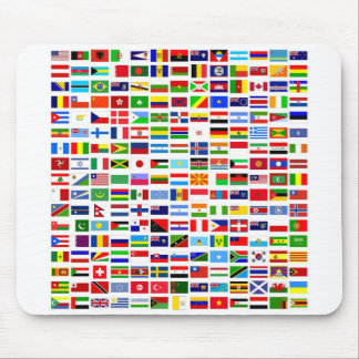Mousepads World Flags