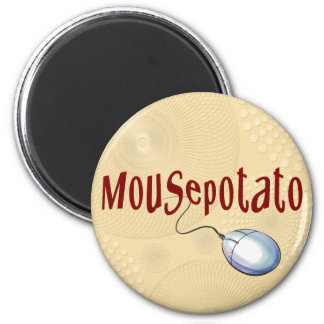 Mousepotato 2 Inch Round Magnet
