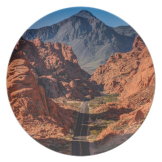 Mouses Tank Road - Valley Of Fire - Nevada Plate