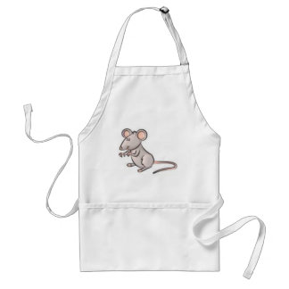 mousess adult apron