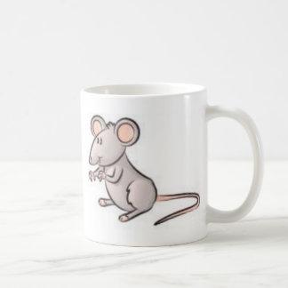 mousess taza básica blanca