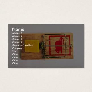 Mousetrap Business Card
