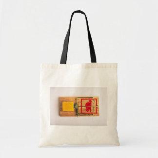 Mousetrap Canvas Bag