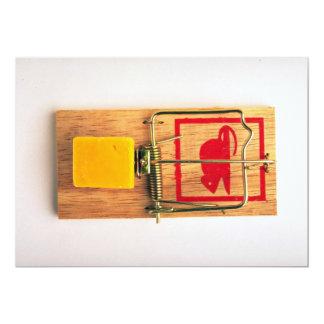 Mousetrap 5x7 Paper Invitation Card