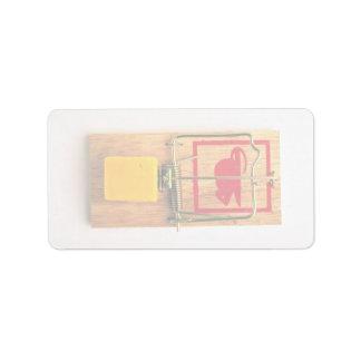 Mousetrap Label