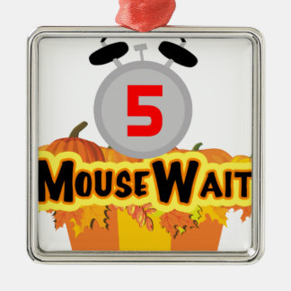 MouseWait 5th Birthday Bash LE Gear Metal Ornament